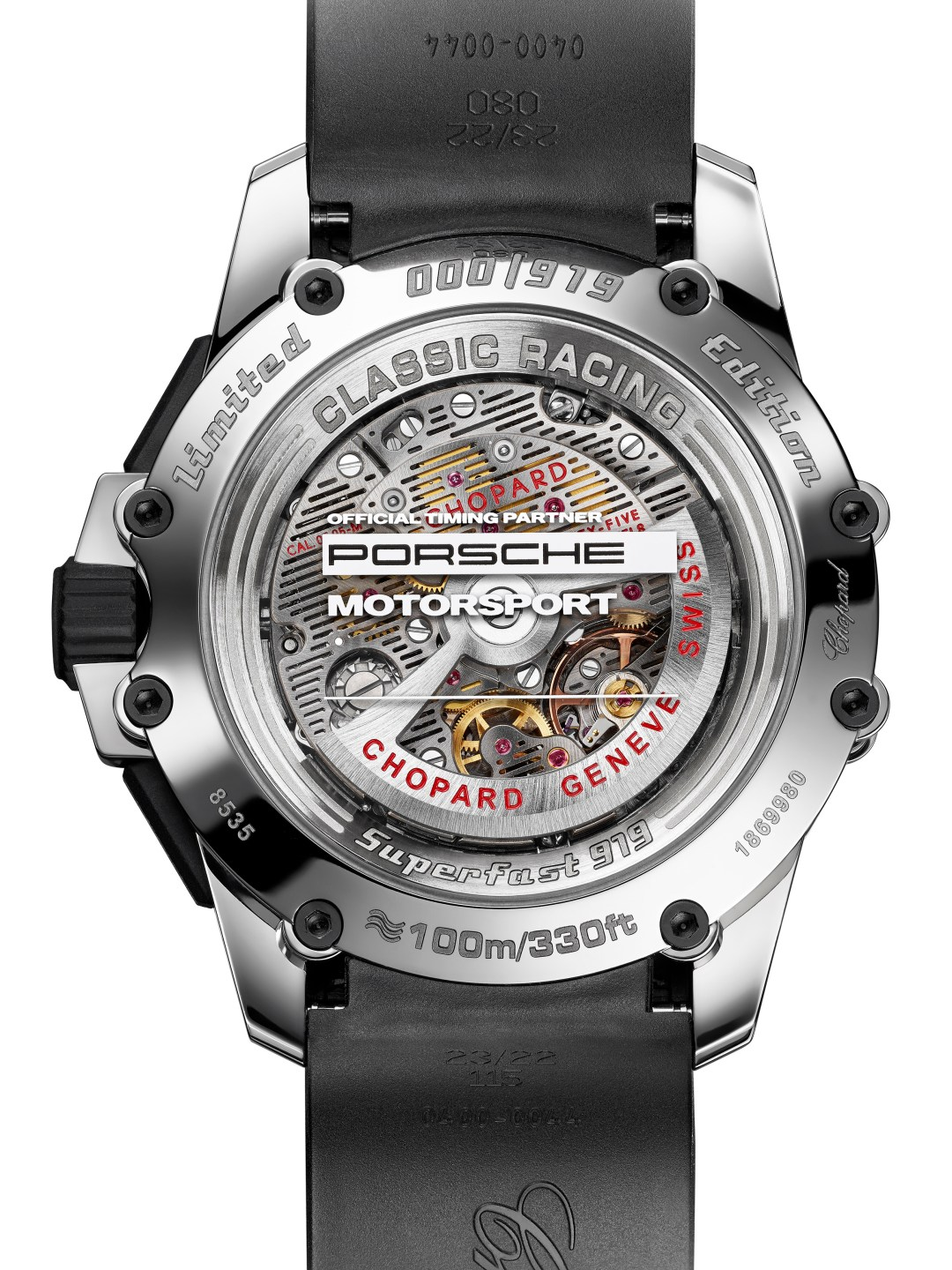 Superfast Chrono Porsche 919 Edition - Back - White Background copy
