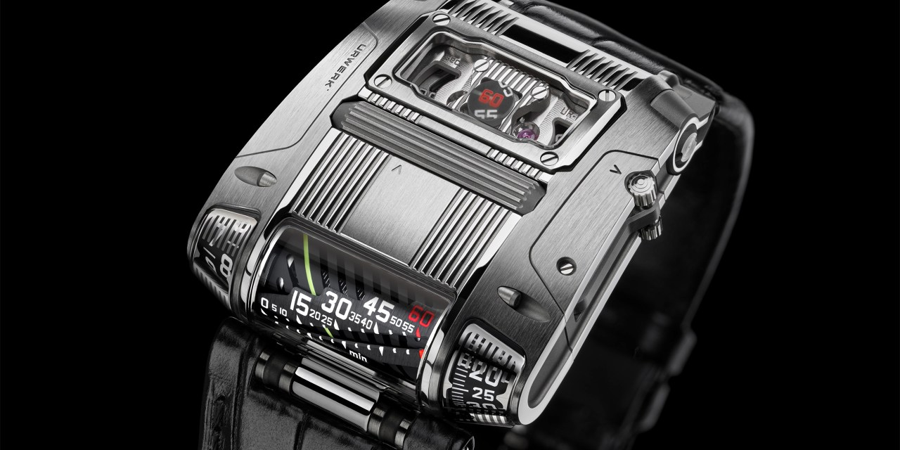 URWERK's new UR-111C .  FROM INTENTITION TO REALITY