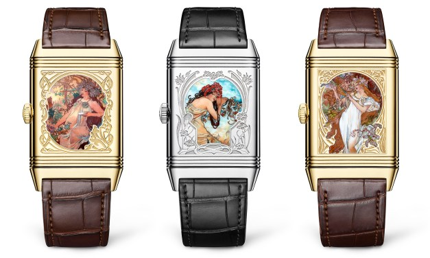 JAEGER-LECOULTRE PRESENTS THE NEW REVERSO TRIBUTE ENAMEL ALFONS MUCHA