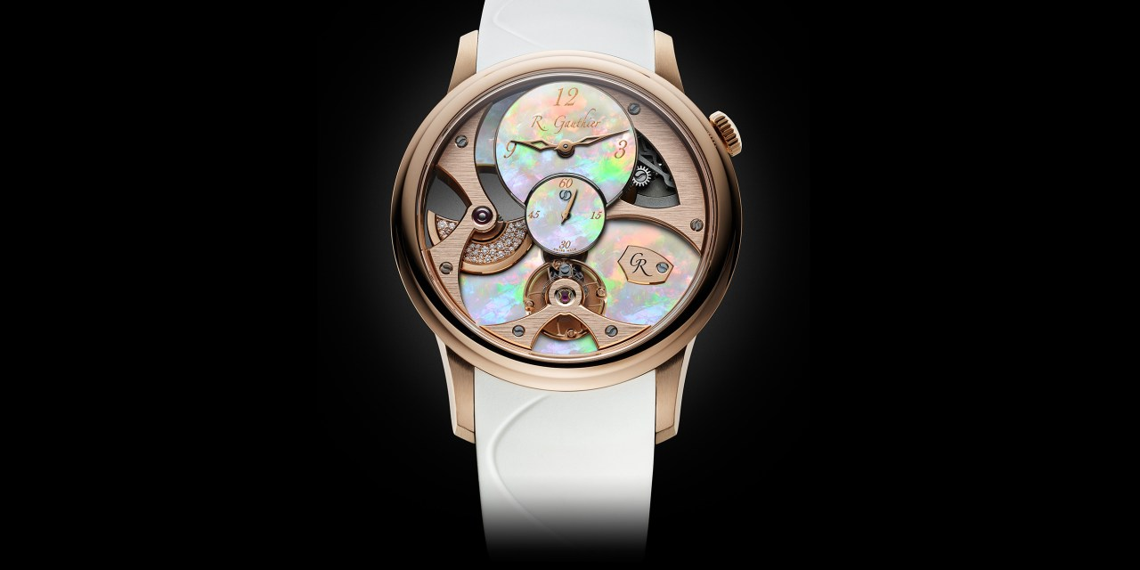 "Romain Gauthier ""MICRO-ROTOR LADY OPAL"""