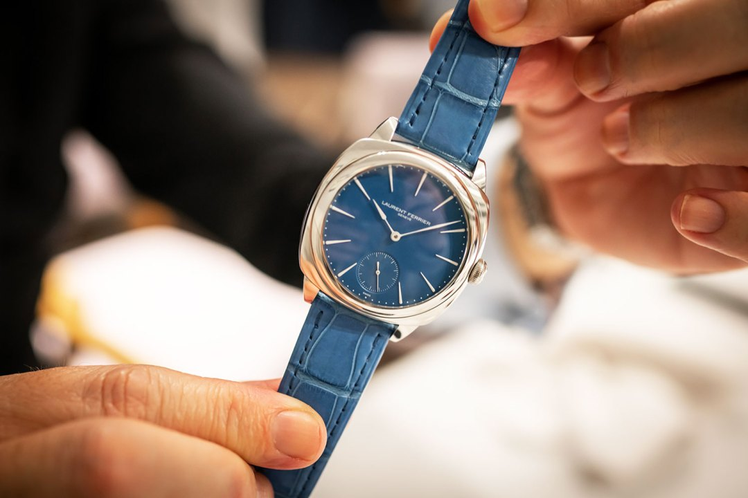 Cena con Laurent Ferrier
