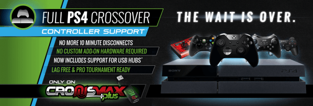 CronusMAX v1.20 Update Offers Full PS4 Crossover Support