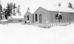 Brooks-Scanlon logging camp near Sisters ca. 1945