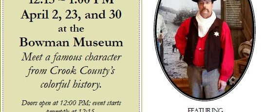 People of Our Past brings history to life at Bowman Museum