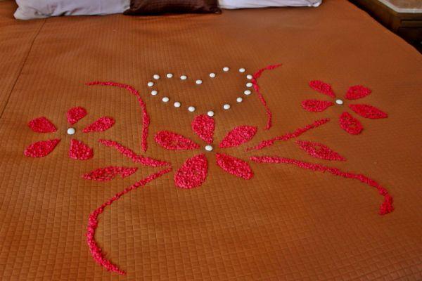 Bed design at villa del palmar in loreto, mexico