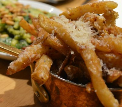 truffle fries at Hadskis in Belfast