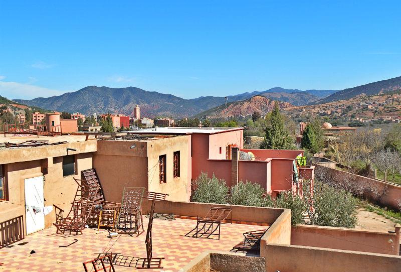 mountain view near girls school in marrakech morocco eileen cotter wright