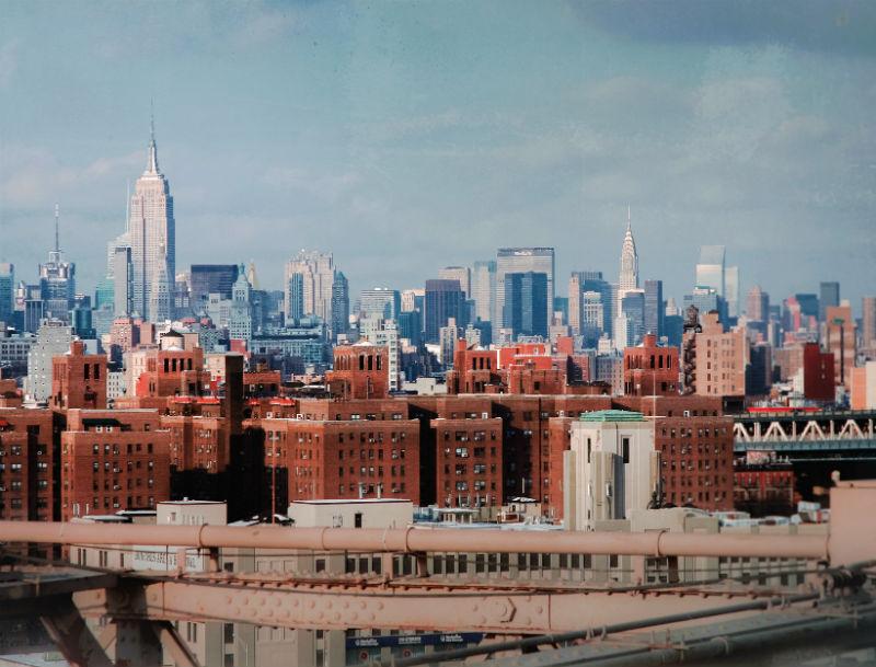 nyc skyline by (vincent desjardins)