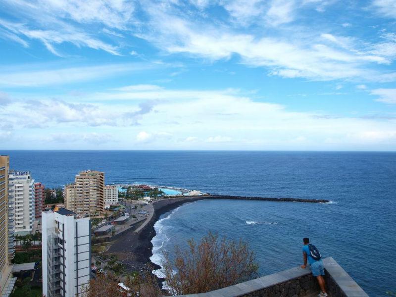 tenerife coastline