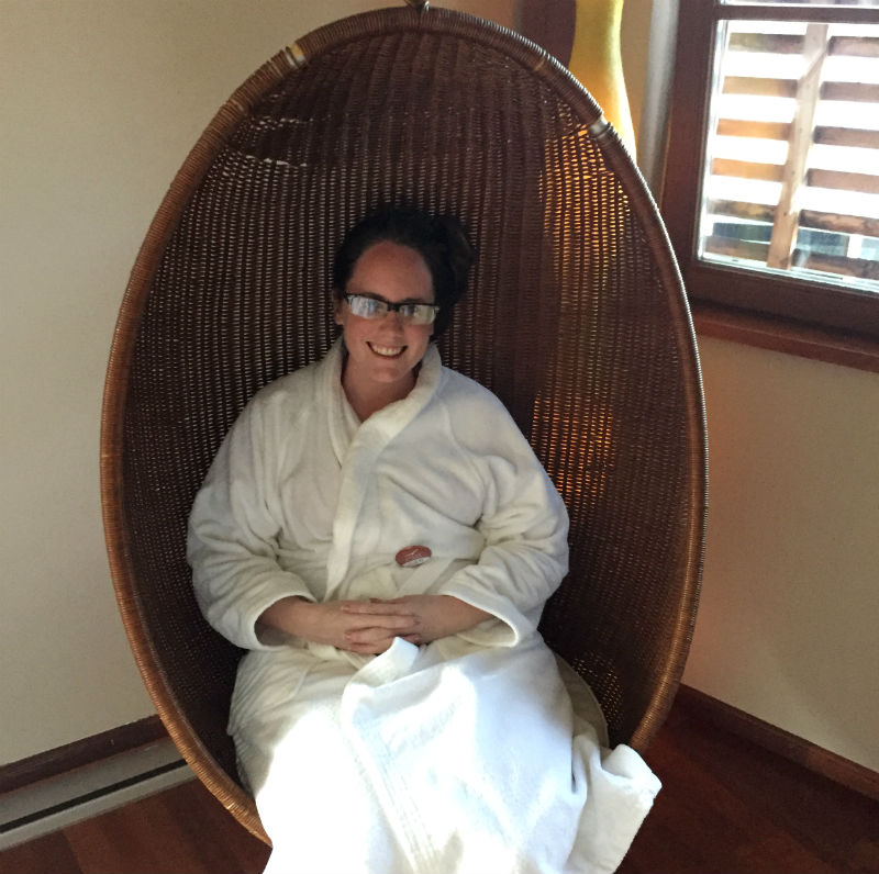 eileen cotter wright at adler thermae relax room