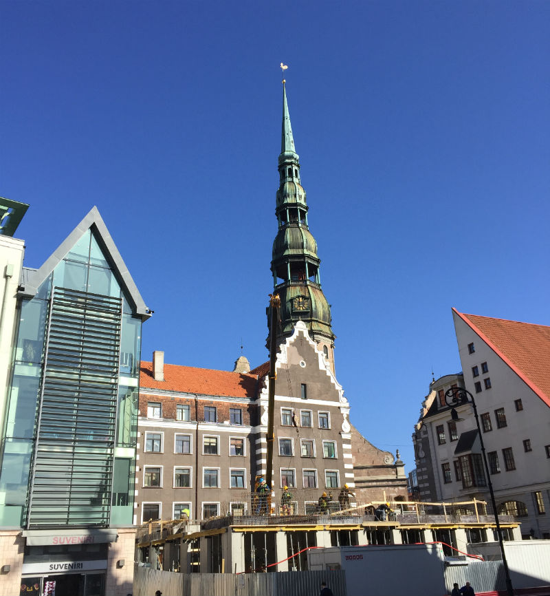 town square riga lativa eileen cotter wright