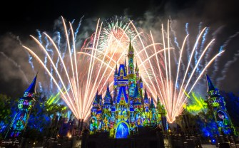 Imagine a fireworks show that makes you believe anything is possible! (Disney Stock Photo)