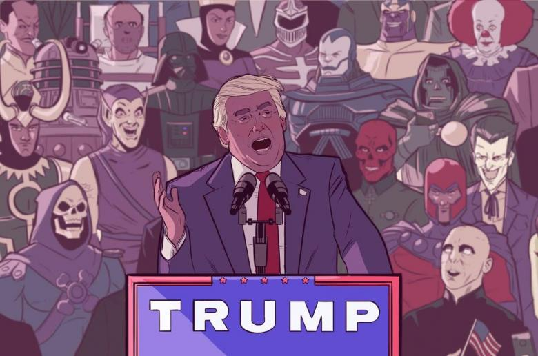Open Thread - Super Villains For Trump