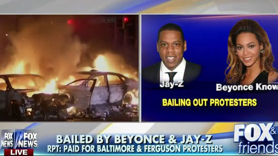 7782d7d88eb Jay Z and Beyoncé bailed out protesters in Baltimore and Ferguson, activist  says. ...