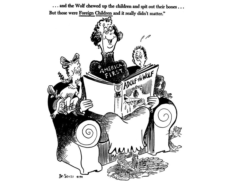 Dr. Seuss Cartoon Proves 'America First' Is Heartless