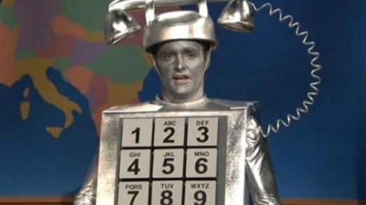 A picture of Will Forte as Robocall
