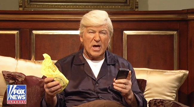 SNL Donald Trump Calls Fox Amp Friends During Executive