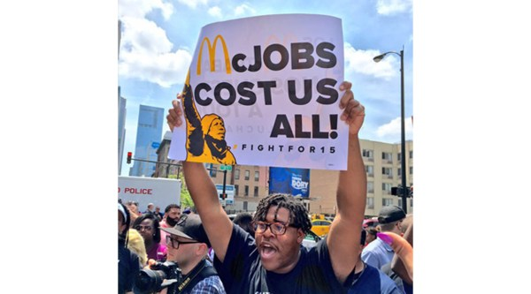 Victory! McDonald's Surrenders On Minimum Wage Fight ...