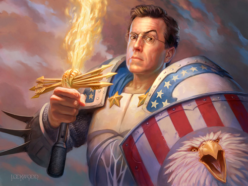 Colbert and the Sword of Truthiness