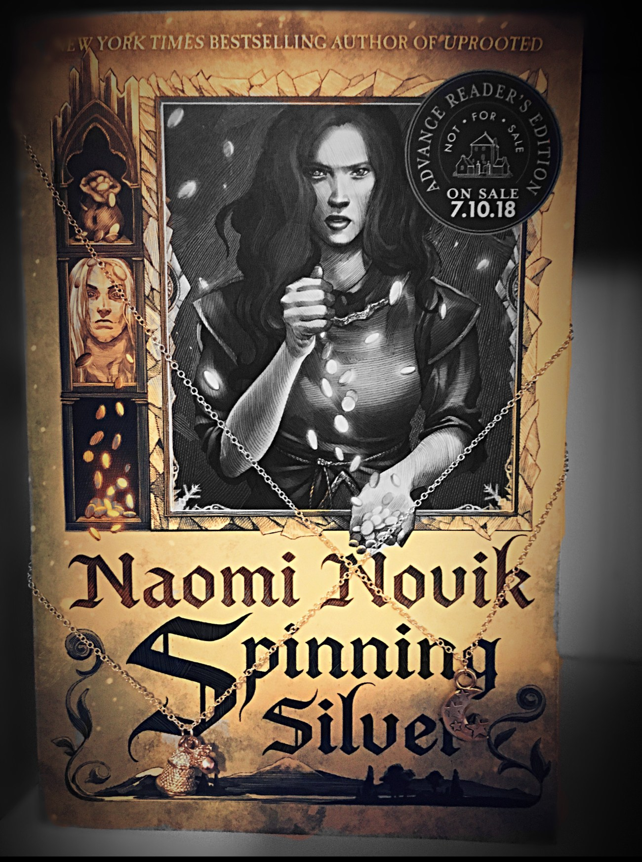 Spinning Silver Naomi Novik : spinning, silver, naomi, novik, Review, Spinning, Silver, Naomi, Novik, Becky's