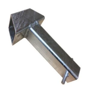 Crookstoppers concrete-in ground anchor.
