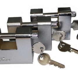 80mm Armoured Padlock Range.