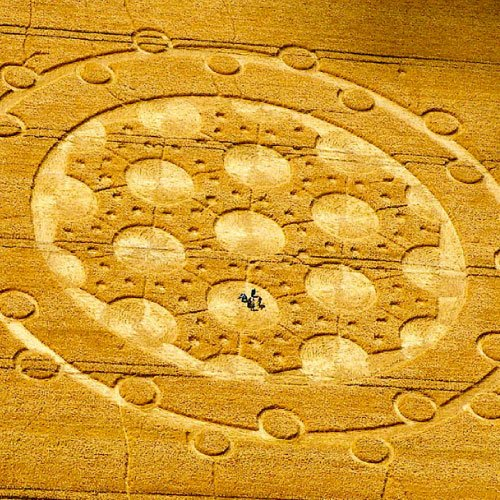 Free energy schematic Crop Circle - Wiltshire England UK - from Patty Greer Films