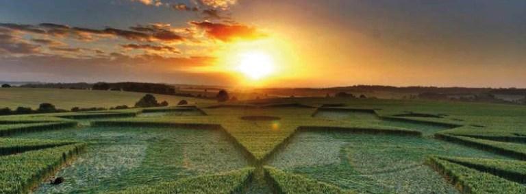 La Géométrie Multi-Dimensionnelle des Crop Circles