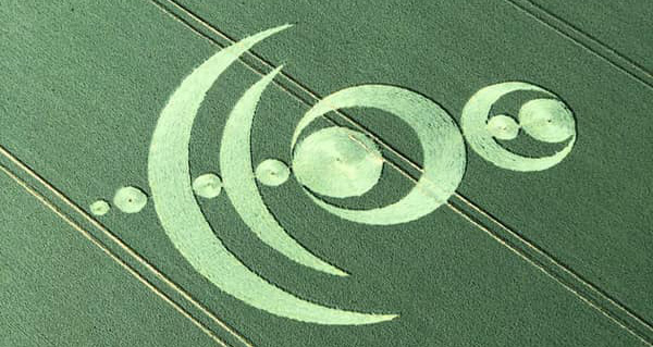 Un Crop Circle made in France