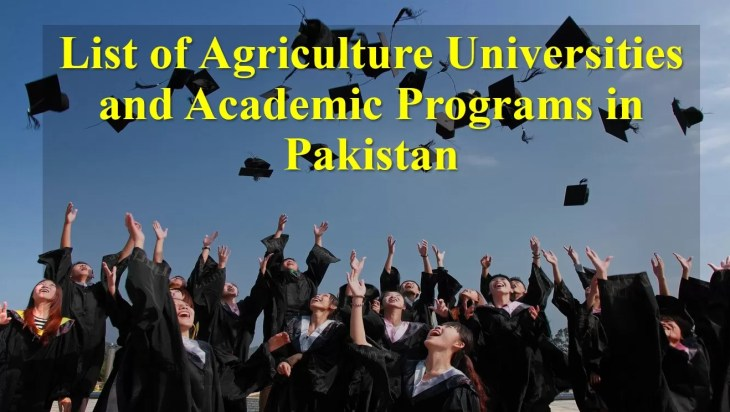 list of agriculture institutes in pakistan