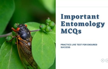 Entomology Important MCQs