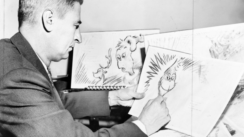 Image result for Dr. Seuss' first appearance