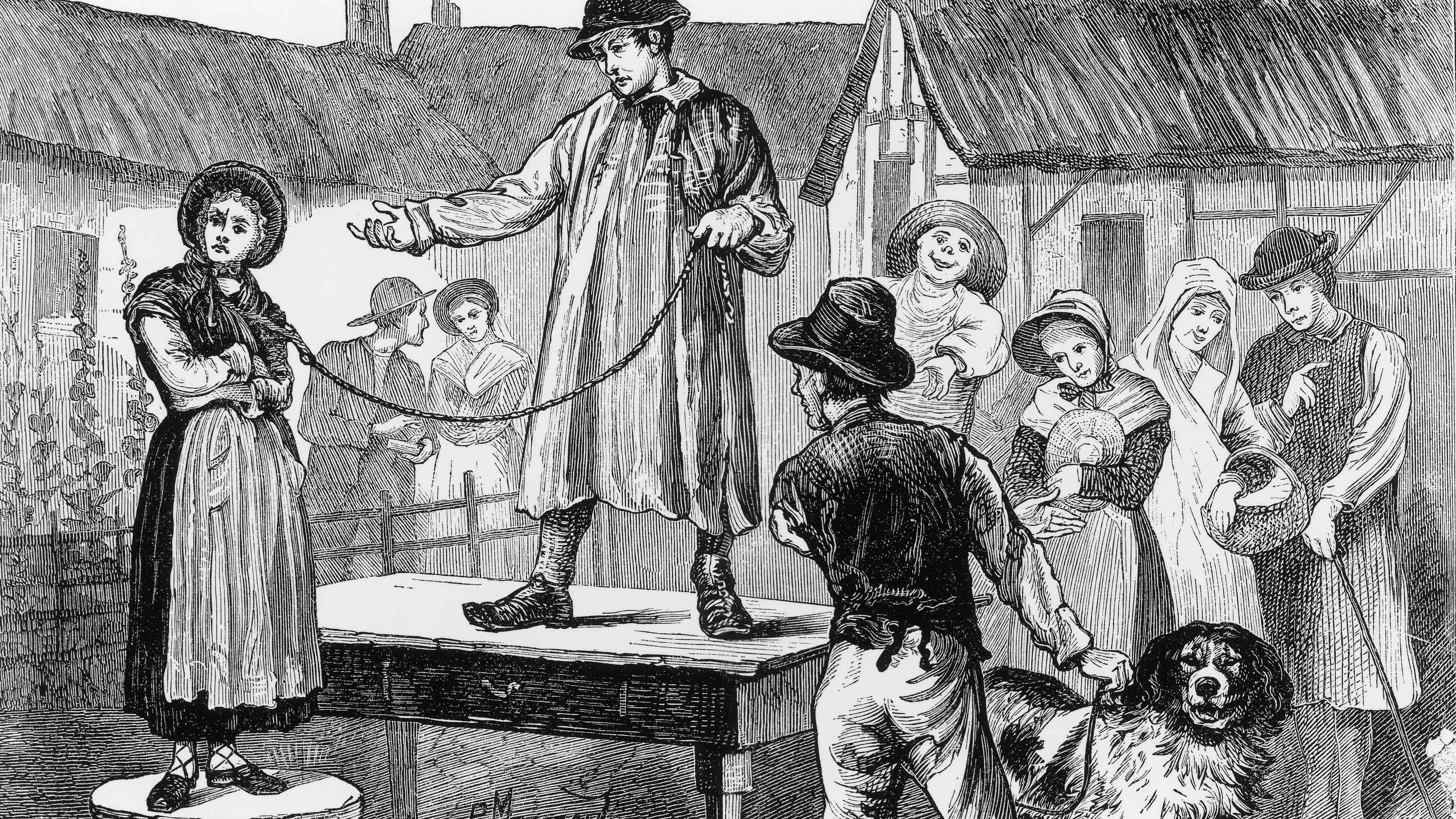 English Men Once Sold Their Wives Instead of Getting Divorced - HISTORY