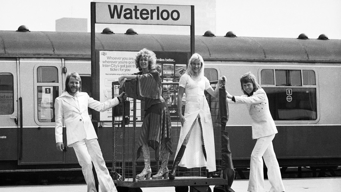 """April 6, 1974: ABBA Won the Eurovision Song Contest for """"Waterloo,""""  Launching Their International Career - Lifetime"""