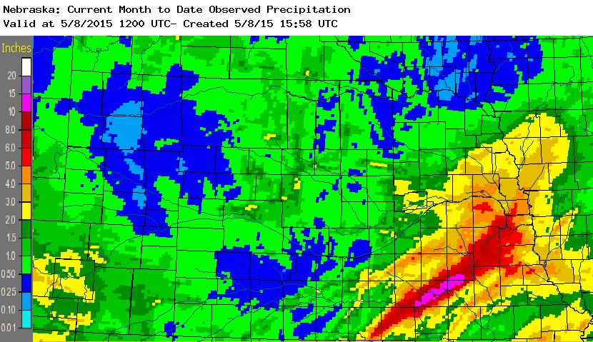 May Rainfall Totals