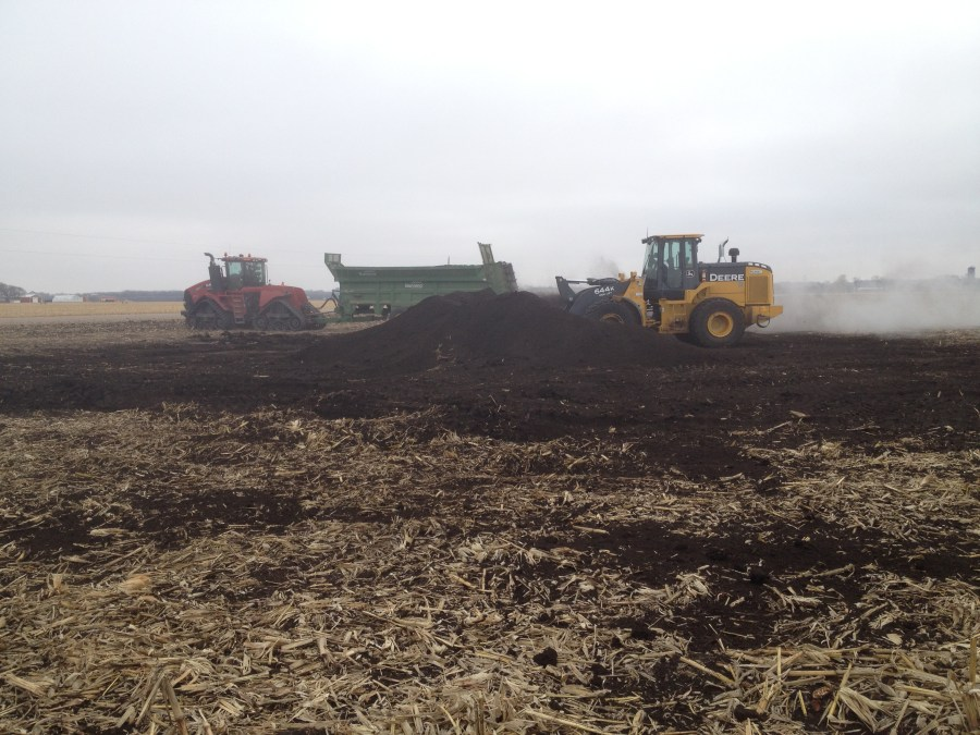 Manure utilization for improved crop production