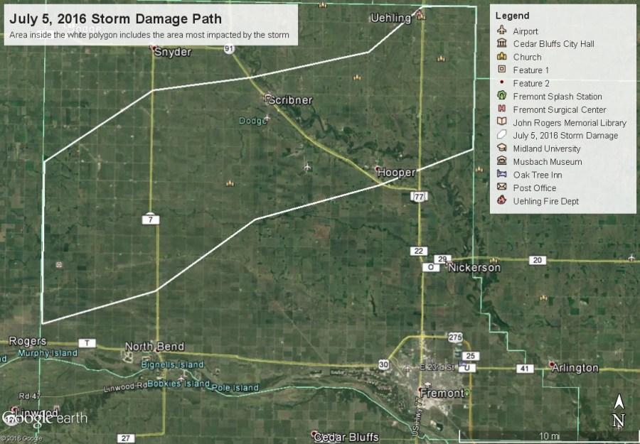 July 5 Storm Damage