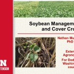 Presentation from 2017 Nebraska Cover Crop Conference: Soybeans and Cover Crops