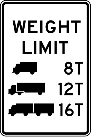Changes to Bridge Posting Signs Require Truckers Attention