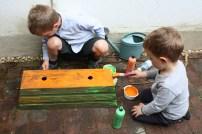 Peinture de la maison des escargots (1)