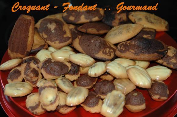 madeleines marbrées au chocolat - novembre 2008 048 copie