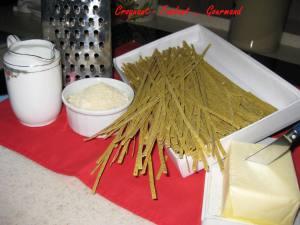 Pâtes au sarrasin sauce Alfredo -fevrier 2009 060 copie