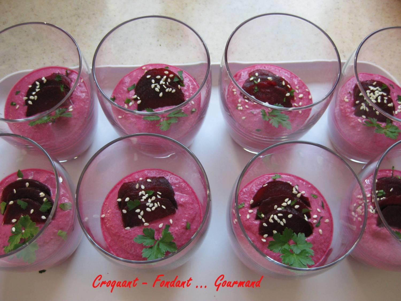 Crème de betterave et son tartare - mars 2009 082 copie