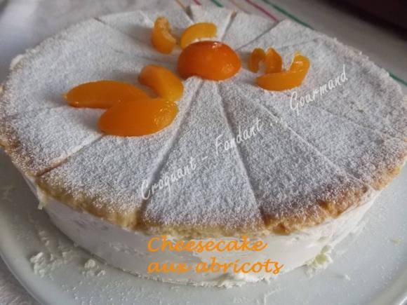 Cheesecake aux abricotsDSCN7398
