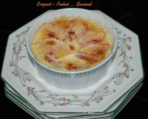 Crème renversée aux pêches jaunes - septembre 2009 044 copie