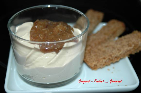 verrines de chantilly de foie gras - DSC_2353