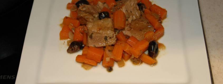 Bourguignon de veau aux olives - novembre 2009 040