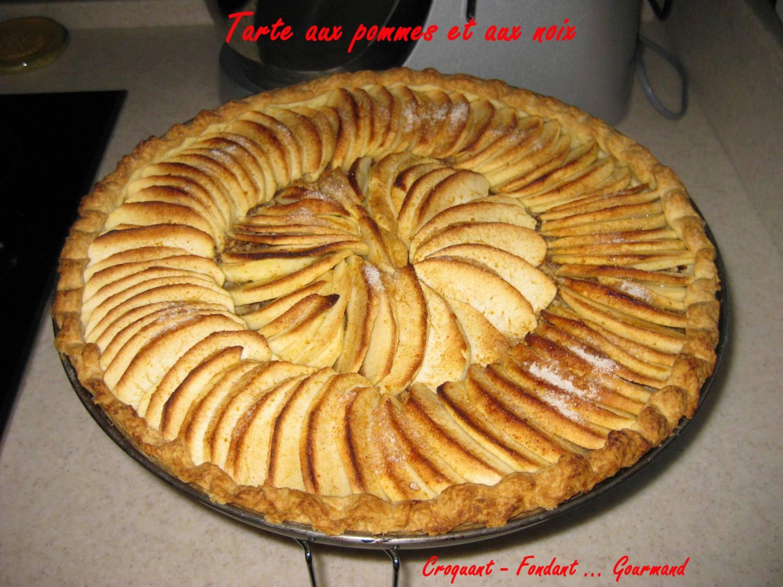 Tarte aux pommes aux noix - decembre 2009 027