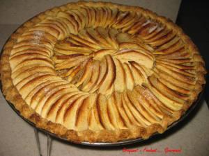 Tarte aux pommes aux noix - decembre 2009 029