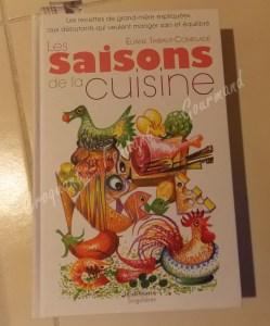 Livre les saisons de la cuisine DSCN1227